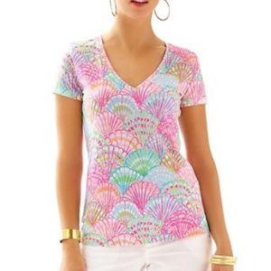 Lilly Pulitzer Oh Shello shirt M